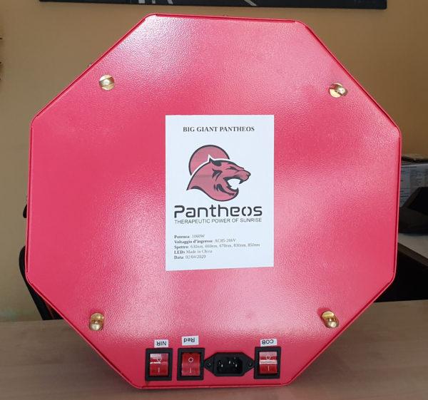 Red Giant Pantheos 2 retro - 3 interruttori